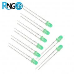 LED مات سبز 3mm