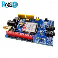 شیلد GSM/GPRS آردوینو UNO با ماژول SIM900 همراه با آنتن