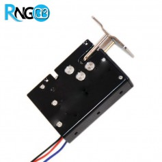 قفل الکتریکی تمام فلزی 12v دارای گیره دیوار نصب