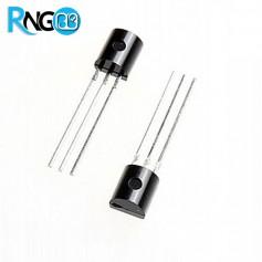 ترانزیستور منفی BC107 پلاستیکی