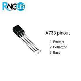 ترانزیستور A733 SMD PNP