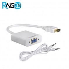 کابل مبدل HDMI به VGA با خروجی صدا