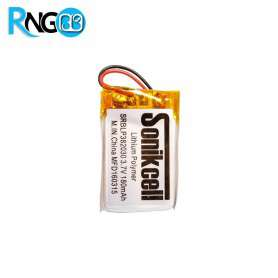 باتری لیتیوم پلیمر 3.7v ظرفیت 150mAh