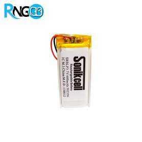 باتری لیتیوم پلیمر 3.7v ظرفیت 500mAh
