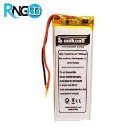 باتری لیتیوم پلیمر 3.7v ظرفیت 600mAh