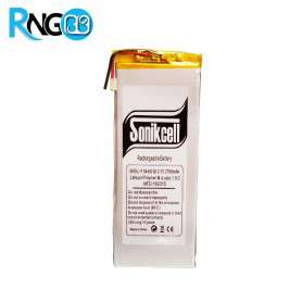 باتری لیتیوم پلیمر 3.7v ظرفیت 2550mAh