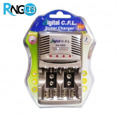 سوپر شارژر باتری های قلمی نیم قلمی کتابی HA-4302 مارک C.F.L