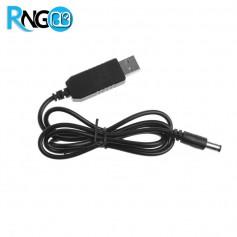 کابل افزاینده ولتاژ USB به 12v