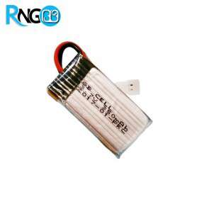 باتری لیتیوم پلیمر 3.7v-350mAh توان بالا مارک GB CELL