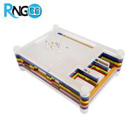 کیس - جعبه مشکی حرفه ای رسپری پای Raspberry Pi آبی رنگ