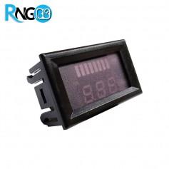 ولتمتر و پنل باراگرافی نشانگر ظرفیت باتری 15v