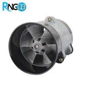 موتور براشلس DC دارای بدنه و فن فلزی (داکت فن)
