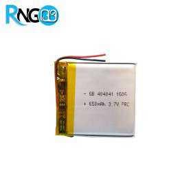 باتری لیتیوم پلیمر 3.7v-650mAh سایز 404041 مارک GB CELL