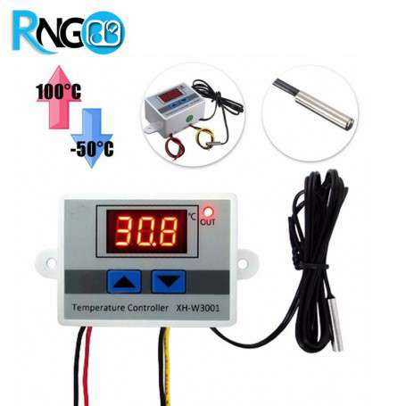 ماژول ترموستات و کنترل دما دیحیتال XH-W3001
