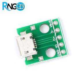 برد تبدیل Micro USB به DIP