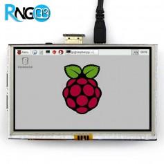 نمایشگر 5 اینچ همراه با تاچ مقاومتی دارای ورودی HDMI اورجینال