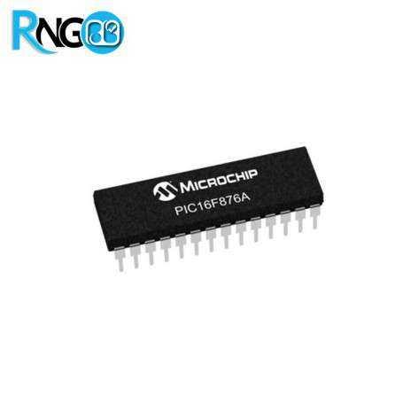 میکروکنترلر PIC16F876A-I/SP پکیج DIP