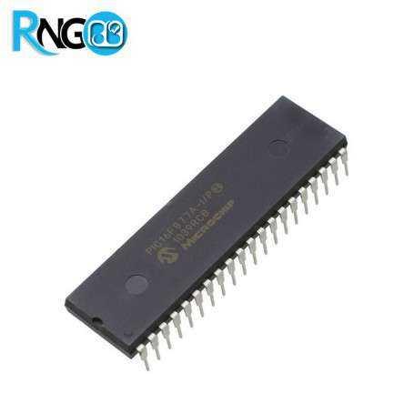میکروکنترلر PIC16F877A-I/SP پکیج DIP