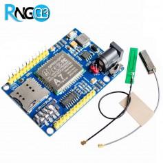 ماژول GSM/GPRS/GPS چهار باند A7 همراه با آنتن GSM و GPS