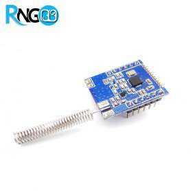 ماژول فرستنده 433Mhz بی سیم SI4432برد بیش از 7.5Km همراه با آنتن