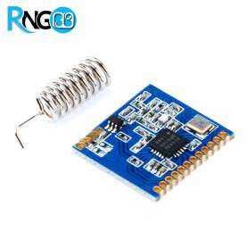 ماژول فرستنده بی سیم SI4432 در فرکانس 433Mhz با برد 1Km