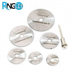 پک فرز 6 عددی مارک HSS مناسب برای برش صفحات فلزی