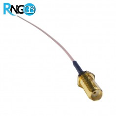 رابط SMA-F / کانکتور روپانلی SMA-F سیم دار / افزایش طول آنتن لحیمی