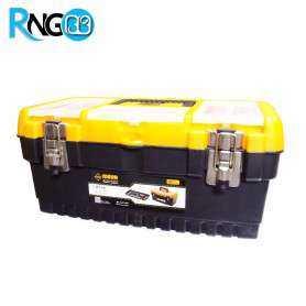 جعبه ابزار مدل MT16 با قفل فلزی سایز 16 اینچ