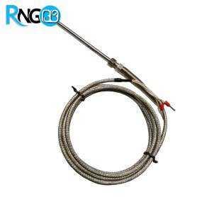 سنسور PT100 دو متری با سری رزوه M8 طول 5cm
