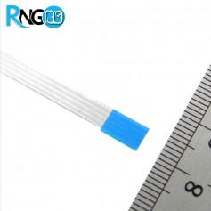 ریبون FFC فلت 4 پین 0.5mm طول 10cm دو طرف یکسان