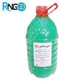 مایع فلاکس پایه آب 4 لیتری - بدون نیاز به شستشو