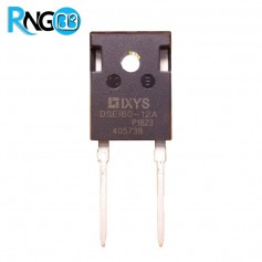 دیود فست 1200V / 52A تکی DSEI60-12A اورجینال IXYS