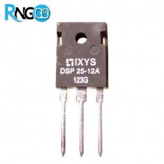دیود فست 1200V / 25A تکی DSP25-12A اورجینال IXYS