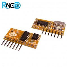 گیرنده ریموت لرنینگ 433MHZ حافظه دار RXC6
