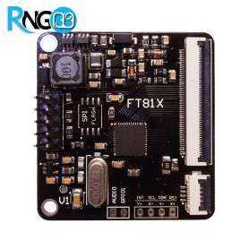 ماژول FT811 درایور تاچ خازنی و نمایشگر LCD رنگی 7و9 اینچ