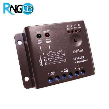 کنترلر پنل خورشیدی 12V/10A مدل LS0512R مارک EPSolar