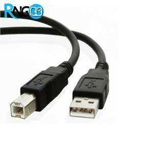 کابل USB A-B (پرینتری) شیلددار و نویزگیردار 1.5 متری