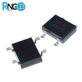 پل دیود 400V / 1A مربعی DB107 اورجینال SEP