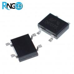 پل دیود 400V / 1A مربعی DB107SMD اورجینال SEP