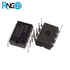 تراشه TC4420CPA درایور پرسرعت 6A ماسفت اورجینال MICROCHIP