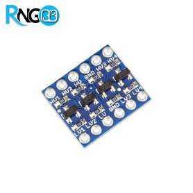 ماژول مبدل سطح ولتاژ 3.3 به 5 دو طرفه 4 کاناله سازگار با I2C