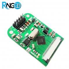 ماژول درایور TFT LCD دارای کنترلر تاچ مقاومتی FT800