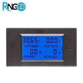 پاورمیتر DC اندازه گیر ولتاژ/جریان/توان/انرژی 20A