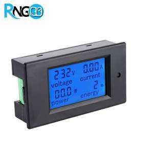 پاورمیتر AC اندازه گیر ولتاژ/جریان/توان/انرژی 20A