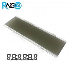 نمایشگر LCD سون سگمنتی 6DIG عریض (پمپ بنزینی)