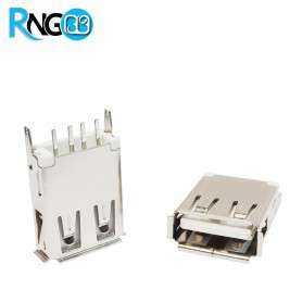 كانكتور USB-A مادگی پایه صاف بلند ایستاده