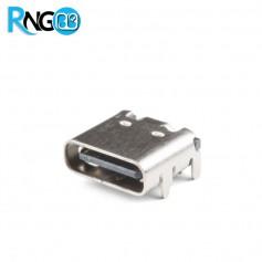كانكتور USB تیپ C مادگی SMD