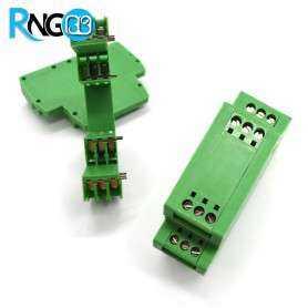 جعبه صنعتی 80x70x26mm مدل MB-DR-23 سبز
