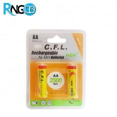 باتری قلمی شارژی 2500mAh مارک Digital C.F.L