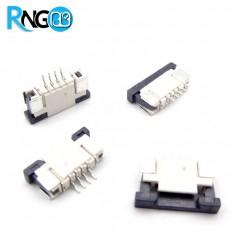 کانکتور FPC 1.0mm 4Pin TOP مخصوص تاچ اسکرین